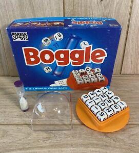 Boggle The 3 Minute Word Game 1996 Parker Games Vintage
