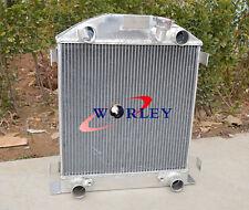 3ROW aluminum radiator FORD Model A W/FLATHEAD ENGINE 1928 1929