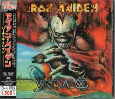 IRON MAIDEN - Virtual XI - CD - Japan 2008 - EMI - TOCP-53772