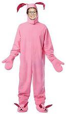 Christmas Story CHILD BUNNY SUIT Costume Pink Pajamas Ralphie Rabbit NEW