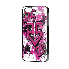 Nuevo R5 Banda Pop teléfono caso se adapta iPhone 4 4S 5 5S 5C 6 Gratis P&P Calidad Superior
