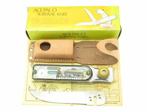 Vintage ACE-PAL-O Seki Japan Apollo Space Age Survival Knife Folding Multi Tool