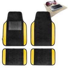 Yellow Carpet Floor Mats For Car Sedan Suv Van Universal Fitment With Dash Mat Fits 2012 Toyota Camry