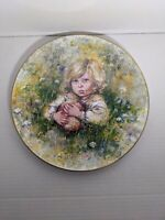 """""""Innocence"""" Collector Plate. The Blossoming Of Suzanne by Mary Vickers"""