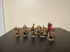 Warhammer Age of Sigmar Ironjawz Orruk  Ardboys x 10 lot 2