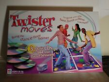 TWISTER Moves Game Dance Music 3 CDs Milton Bradley Aaron & Nick Carter CD