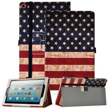 New listing For Amazon Fire Hd 10 (2019 Release) Case Synthetic Leather Stand Cover Us Flag