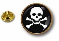pins pin badge pin's metal button drapeau pirate tete de mort jack rackham