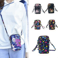 Women Messenger Portable Handbag Small Shoulder Bag Wallet Cell Phone Casual