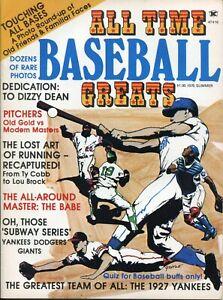 1975 All Time Baseball Greats, Summer, Magazine, Dizzy Dean, 1927 Yankees