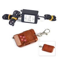 12V Wireless Key Remote Control Strobe Flash For Car LED Bulbs Light Lamp Strip