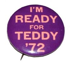 1972 TED KENNEDY campaign pin pinback button political presidential election