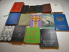 Vintage Religious Book LOT 15 New Testaments Bibles Assortment Destash Lot