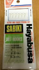 Hayabusa Sabiki Hage-Aurora #S068Ae-#3 S/W Hot Hooks X6(#12 Hooks) 5#/3# Lines