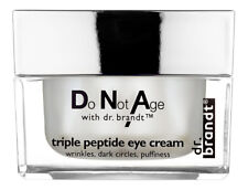 Dr. Brandt Do Not Age With Triple Peptide Eye Cream 0.5 oz. Brand New! Fresh!