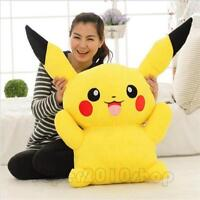 Big Digimon Pikachu Pokemon go Plush Giant Large Stuffed Toy Doll Pillow 60cm A+