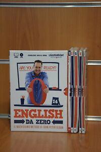 """DVD Corso di Inglese """"English da Zero"""" J.P. Sloan Corriere della Sera Originali"""