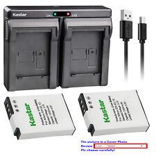 Kastar Battery Dual Charger for Nikon EN-EL12 MH-65 & Nikon Coolpix B600 Camera