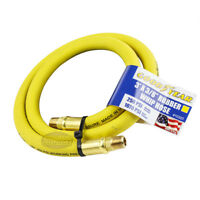 """Goodyear Rubber Hose Whip 3' ft. x 3/8"""" in. 250 PSI Air Compressor Lead 10323"""