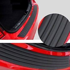 Jdm Car Trunk Door Sill Plate Rear Bumper Guard Protector Rubber Pad Trim Cover