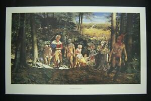 """The Taking of Mary Jemison""   Robert Griffing Signed & Numbered Limited Ed MINT"