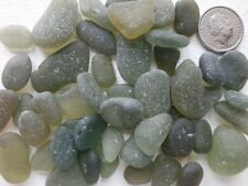 English sea glass shades green all sizes jewelry,arts/crafts (50 total)