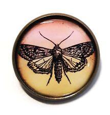 Steampunk Summer Kitsch Boho Bn Butterfly Brooch Antique Bronze Pin/Badge Nature