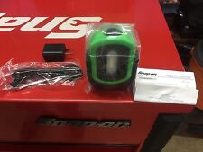 snap on Tools -.GREEN Magnétic led work light. Rechargeable Adjustable.new