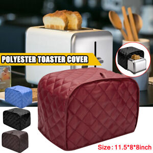 New Toaster Cover 2 Slice Bread Machine Kitchen Appliance Dust Protect Toaster