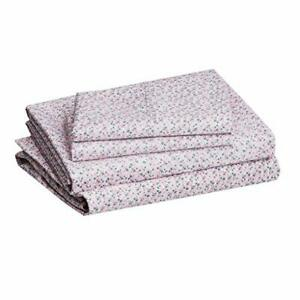 "Basics Lightweight Super Soft Easy Care Microfiber Sheet Set with 14"" Deep Po..."
