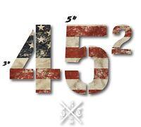 TRUMP STICKER 45th PRESIDENT SECOND TERM 2020 DIE CUT FLAG DECAL WINDOW MAGA