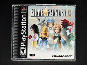 Final Fantasy IX 9 (Sony PlayStation 1) Complete Black Label - Mint - PS1 PSX