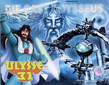 ULYSSE 31 - ODYSSEUS - 20 CM - DIE CAST ODYSSEY ULYSSES 31 - NEUF - NEW !!!!!!!!