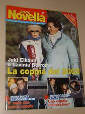 NOVELLA=2003/1=MARIA MAZZA=EDOARDO COSTA=ELENA BAROLO=MORGAN ASIA ARGENTO=BRANDI