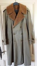 BERTEIL - French Coat imperméable - doublure Alpaga