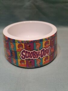 Official Scooby Doo Dog Pet Water Food Colourful Melamine Bowl Non Slip Base GC