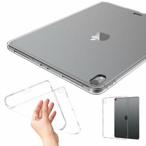 Soft TPU Clear Shockproof Case Cover For iPad 8th 7th 6th 5th Gen Air 2 Pro 9.7