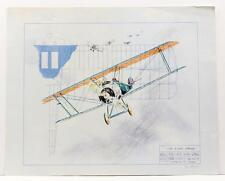 Vintage Original PAUL GEYGAN The Final Strike airplanes Lithograph SIGNED #16