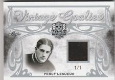 2017-18 Masked Men Percy Lesueur Vintage Goalies Relic 1/1