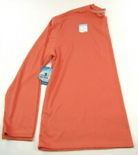 Reel Legends Men's Freeline Long Sleeve Shirt Size 4X Salmon Orange Upf 30
