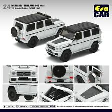 Era Mercedes-Benz G63 AMG White - 1st Special Edition 1/64