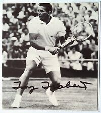 TONY TRABERT – WIMBLEDON CHAMP 1955 - AUTOGRAPHED TENNIS PICTURE
