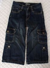 Baby Gap 4 years 4T Girls Roll Up Jeans VGUC adjustable 4T spring fall denim