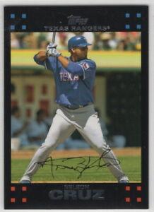 2007 Topps Baseball Texas Rangers Team Set Series 1 2 and Update