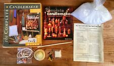 Complete Candlemaker Kit Book Candle Making Wax Beehive Mold Wick Supplies