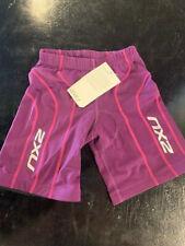 2XU Women's Active Triathlon Shorts- Purple- Multiple Sixes
