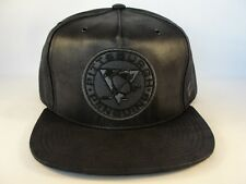 Pittsburgh Penguins NHL Zephyr Snapback Hat Cap Black Dynasty