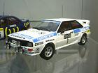 AUDI Quattro Rallye Wittmann Jänner 1984 #1 Winner Funkberater SPr Sunstar 1:18