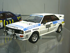 AUDI quattro rallye wittmann wav janvier 1984 #1 winner funkberater spr sunstar 1:18