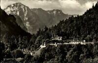 Bad Reichenhall Kirchberg Ansichtskarte ~1950/60 Blick auf Berggasthof Schroffen